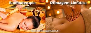Diferença entre drenagem linfática e bambuterapia
