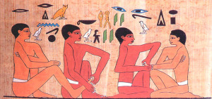história e origem da reflexologia podal